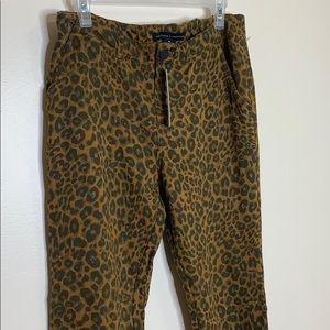 Sanctuary x Anthropologie   Leopard Print Pants